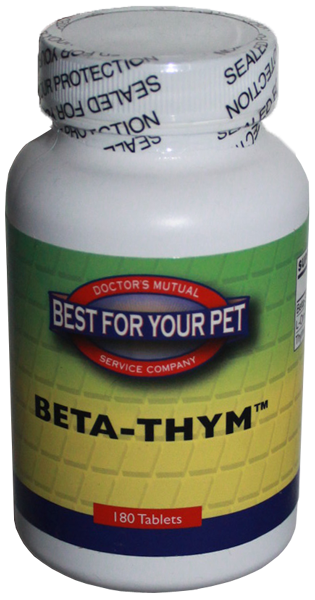 Best for Your Pet Beta Thym - 180 Tablets