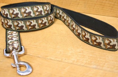 Good Dog Hemp/Canvas Dog Leash 3/4
