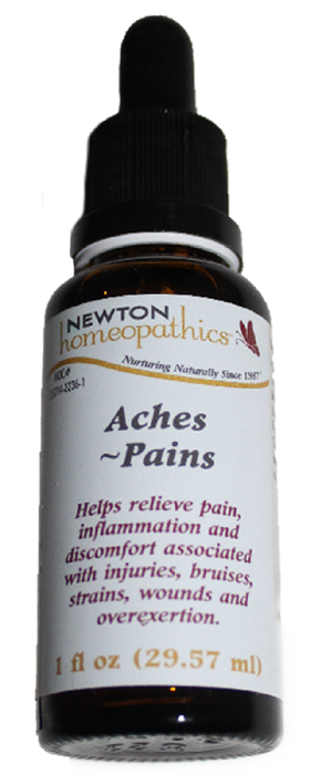 Newton Homeopathics Aches and Pains for People - 1 fl oz
