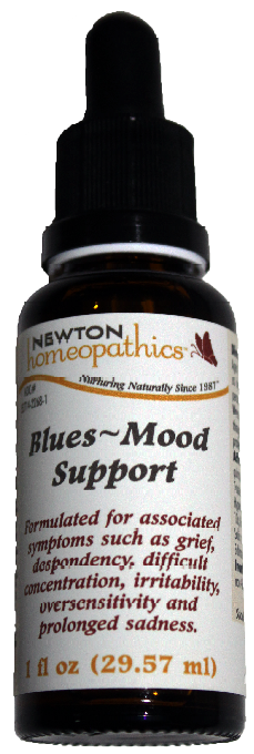 Newton Homeopathics Blues & Mood Support for People - 1 fl oz