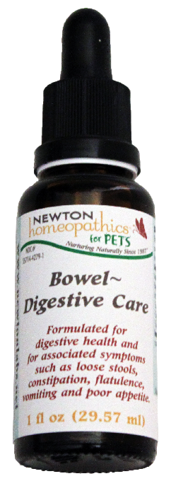 Newton Homeopathics Bowel Digestive Care for Pets - 1 fl oz