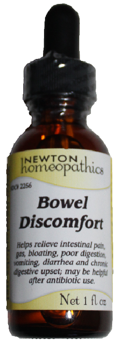 Newton Homeopathics Bowel Discomfort for People - 1 fl oz