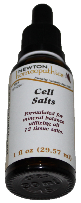 Newton Homeopathics Cell Salts for People - 1 fl oz