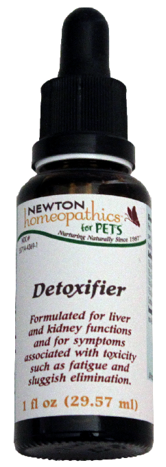 Newton Homeopathics Detoxifier for Pets - 1 fl oz
