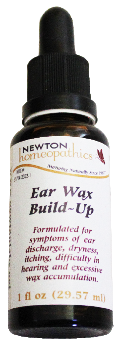 Newton Homeopathics Ear-Wax Build Up for People - 1 fl oz