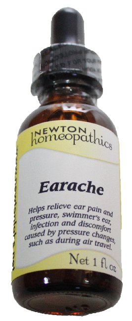 Newton Homeopathics Earache for People - 1 fl oz
