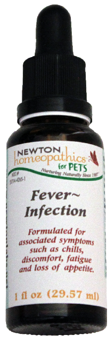 Newton Homeopathics Fever-Infection for Pets - 1 fl oz