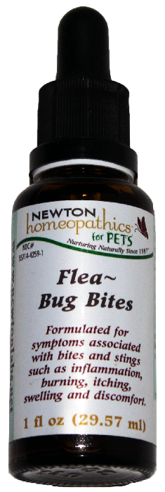 Newton Homeopathics Flea & Bug Bites For Pets - 1 fl oz