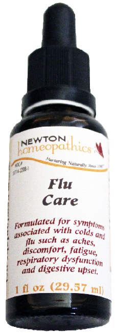 Newton Homeopathics Flu Care for People - 1 fl oz