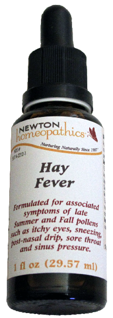 Newton Homeopathics Hay Fever for People - 1 fl oz