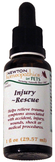 Newton Homeopathics Injury-Rescue for Pets - 1 fl oz