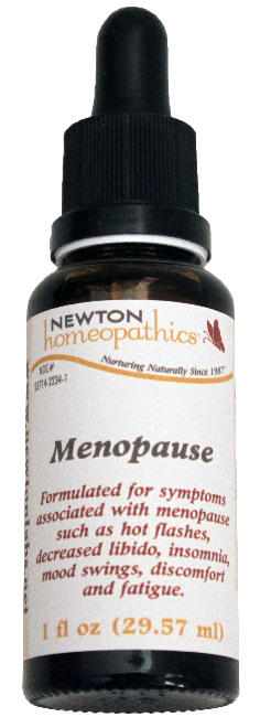 Newton Homeopathics Menopause For People - 1 fl oz