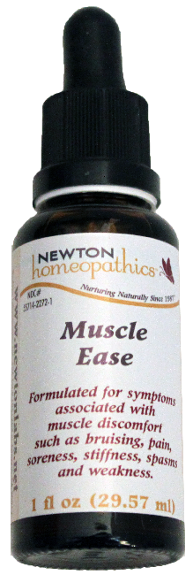 Newton Homeopathics Muscle Ease for People - 1 fl oz
