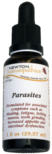 Newton Homeopathics Parasites For People - 1 fl oz