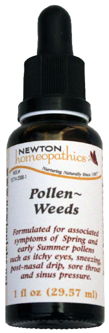 Newton Homeopathics Pollen & Weeds for People - 1 fl oz
