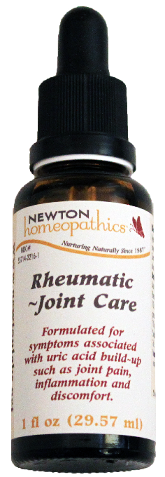 Newton Homeopathics Rheumatic Joint Care for People - 1 fl oz