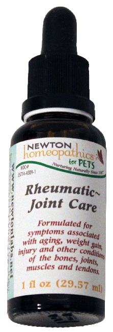 Newton Homeopathics Rheumatic-Joint Care for Pets - 1 fl oz