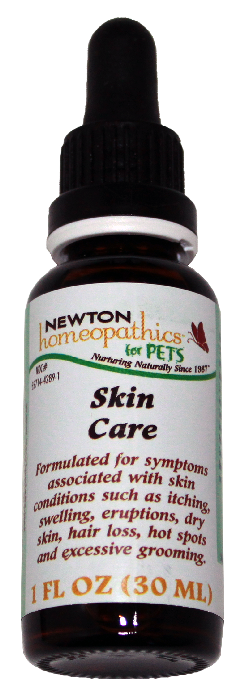 Newton Homeopathics Skin Care for Pets - 1 fl oz