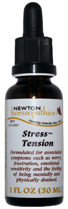 Newton Homeopathics Stress & Tension for People - 1 fl oz