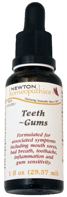 Newton Homeopathics Teeth-Gums for People - 1 fl oz
