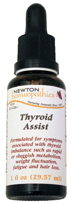 Newton Homeopathics Thyroid Care for People - 1 fl oz