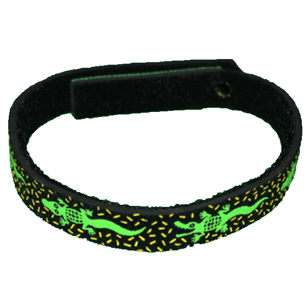 Beastie Band Cat Collar - Alligators - Choose a Color