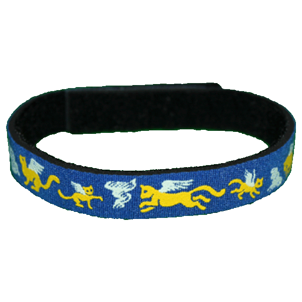 Beastie Band Cat Collar - Angel Cats - Choose a Color