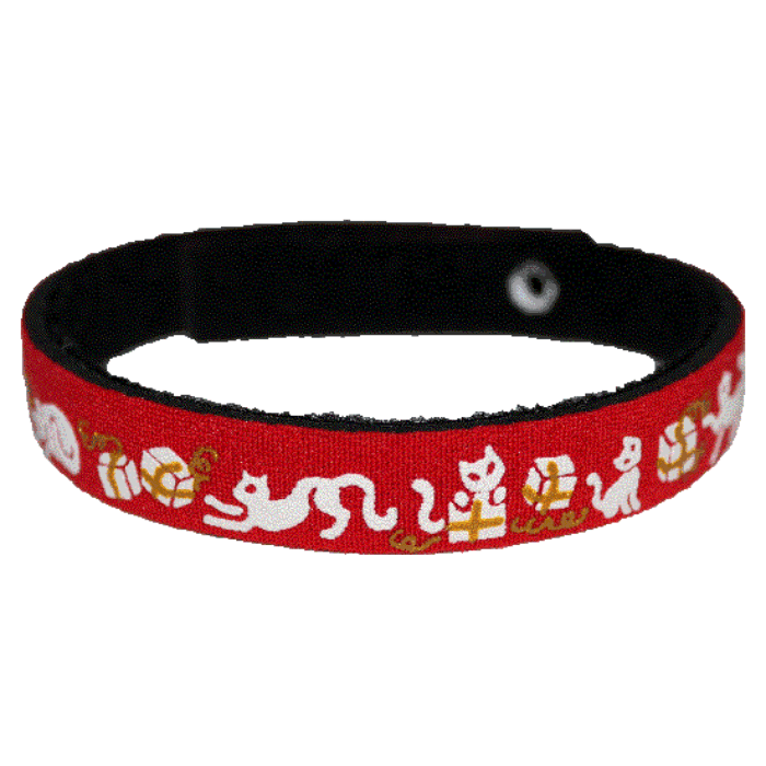 Beastie Band Cat Collar - Cats and Gifts - Red