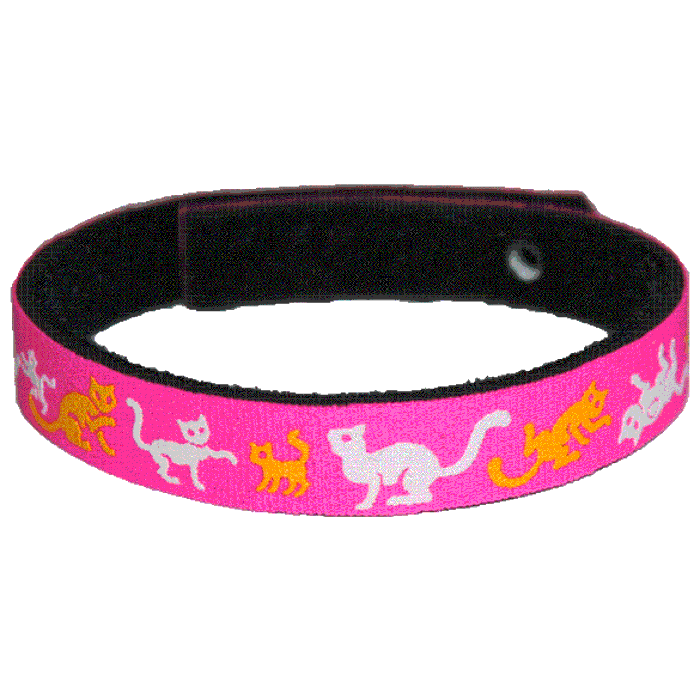 Beastie Band Cat Collar - Cats and Kittens - Choose a Color