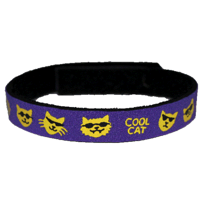 Beastie Band Cat Collar - Cool Cat - Choose a Color