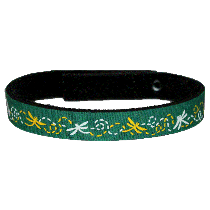 Beastie Band Cat Collar - Dragonflies - Choose a Color