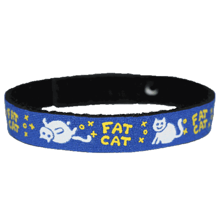 Beastie Band Cat Collar - Fat Cat - Choose a Color