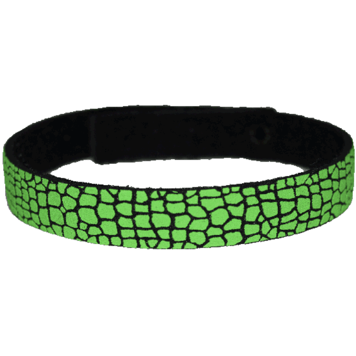 Beastie Band Cat Collar - Gator Skin - Choose a Color