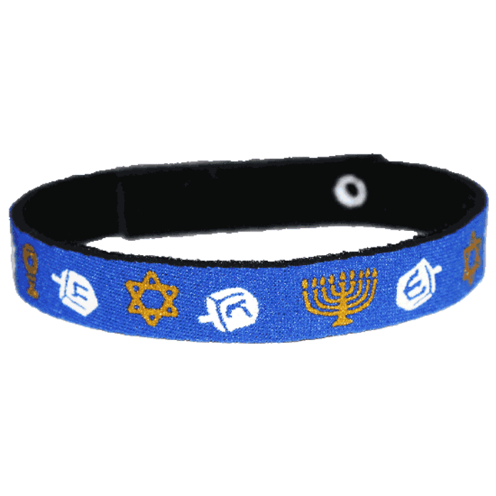 Beastie Band Cat Collar - Hanukkah