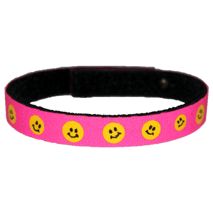 Beastie Band Cat Collar - Happy Faces - Choose a Color