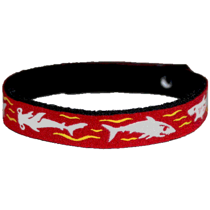 Beastie Band Cat Collar - Killer Sharks - Choose a Color