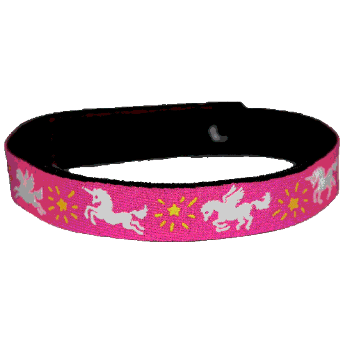Beastie Band Cat Collar - Magical Unicorns - Choose a Color