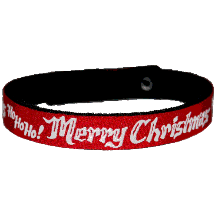 Beastie Band Cat Collar - Merry Christmas