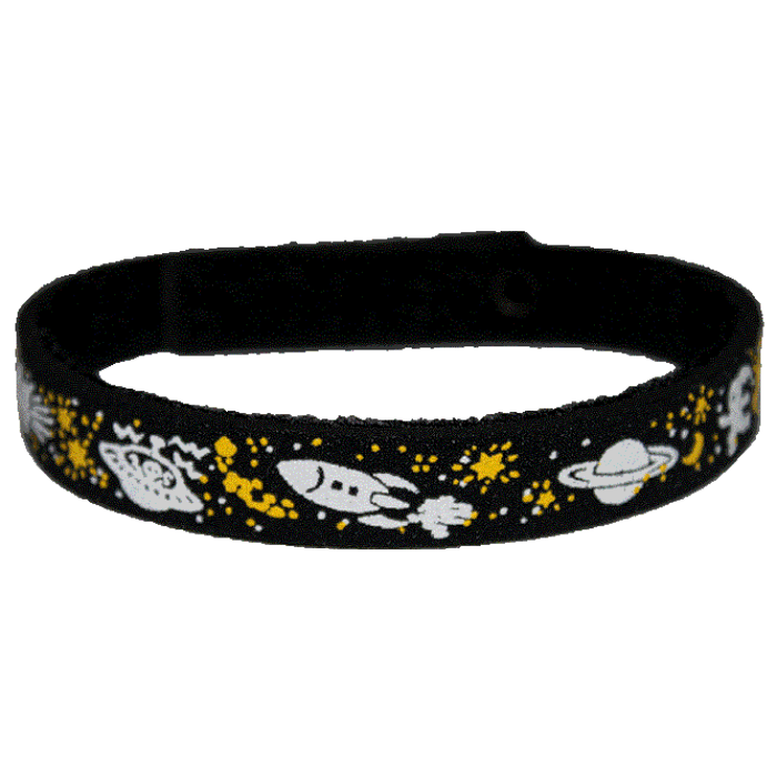 Beastie Band Cat Collar - Outer Space - Choose a Color