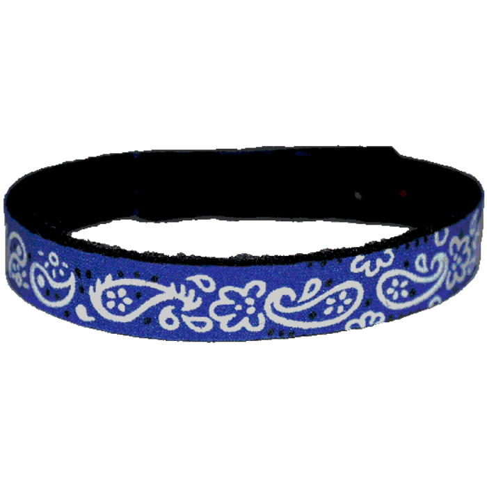 Beastie Band Cat Collar - Paisley - Choose a Color