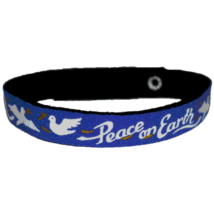 Beastie Band Cat Collar - Peace On Earth