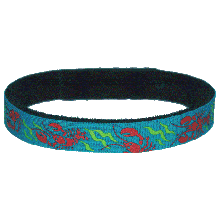 Beastie Band Cat Collar - Red Lobsters - Choose a Color