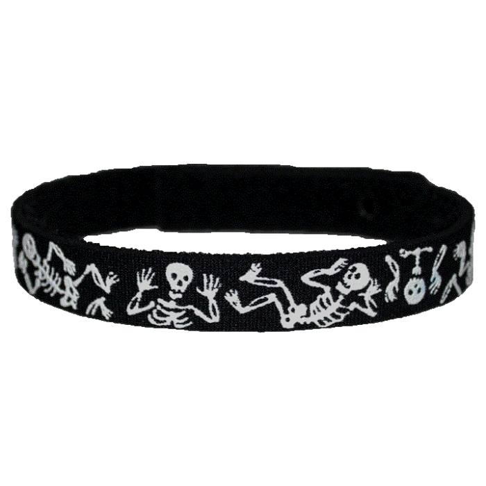 Beastie Band Cat Collar - Skeletons