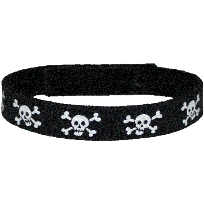 Beastie Band Cat Collar - Skull and Crossbones