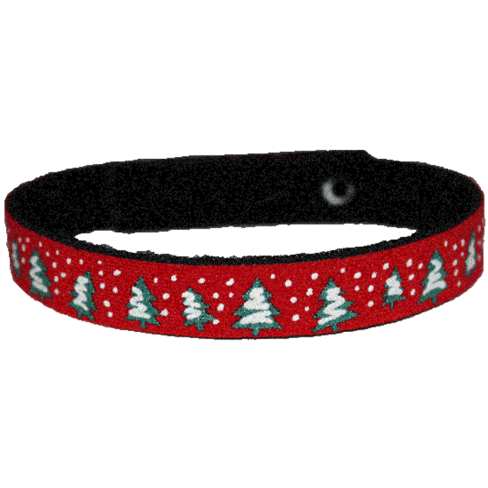 Beastie Band Cat Collar - Snowy Trees