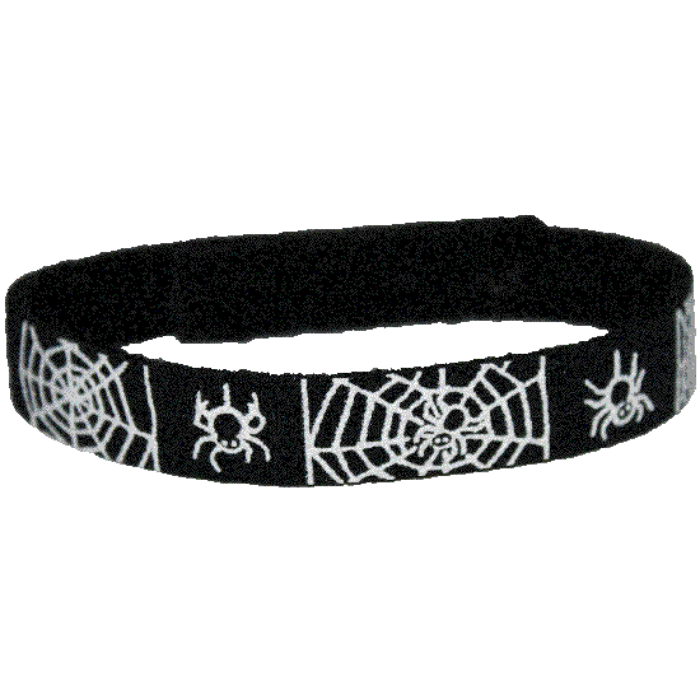Beastie Band Cat Collar - Spiderwebs