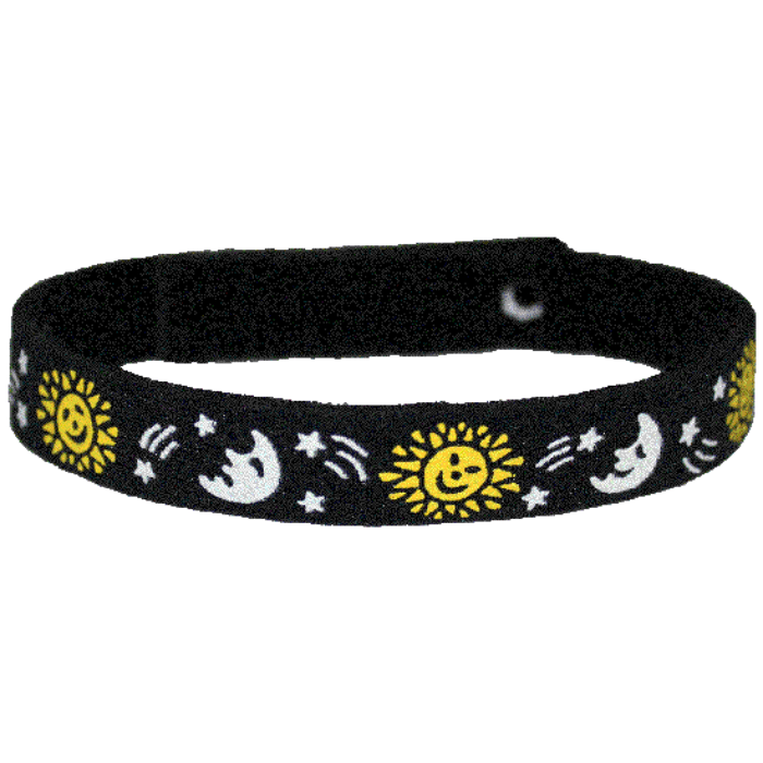 Beastie Band Cat Collar - Sun Moon and Stars - Choose a Color