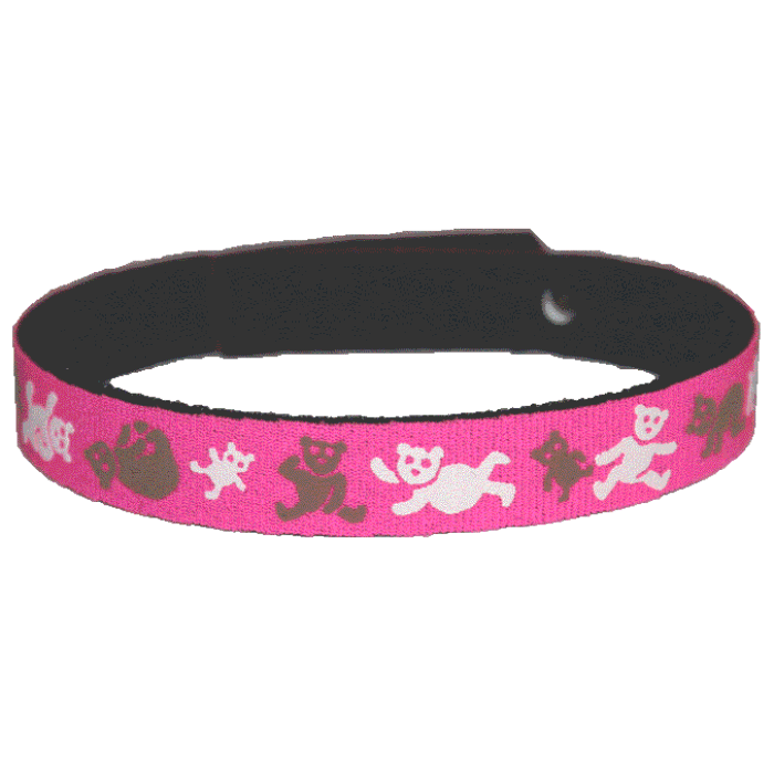 Beastie Band Cat Collar - Teddy Bears - Choose a Color