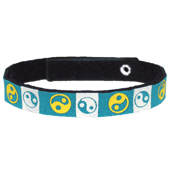 Beastie Band Cat Collar - Yin Yang - Choose a Color