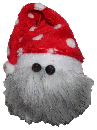 West Paw Design Ho-Ho Hairball Cat Toy - White